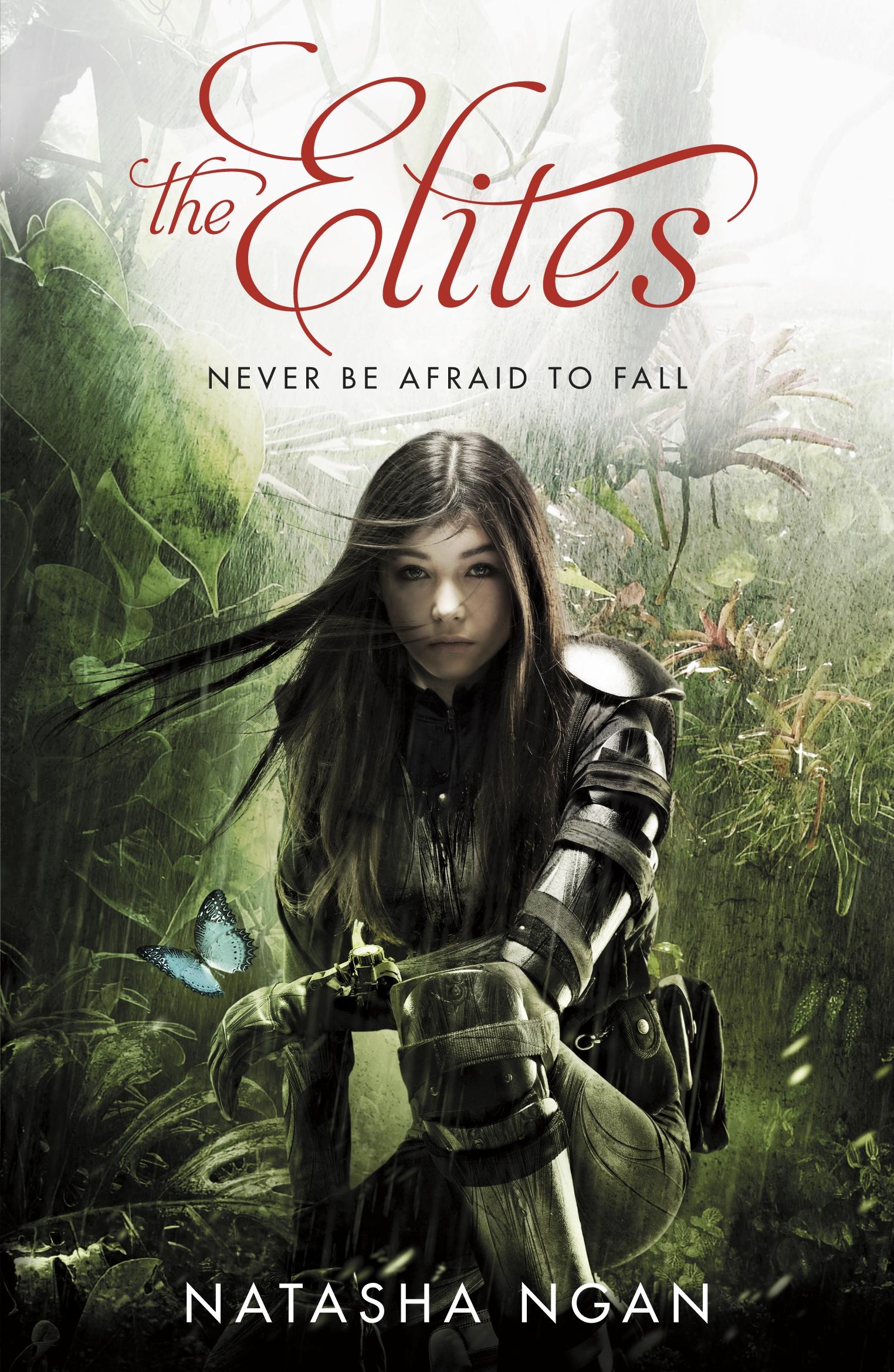 THE ELITES by Natasha Ngan UK Commonwealth paperback cover