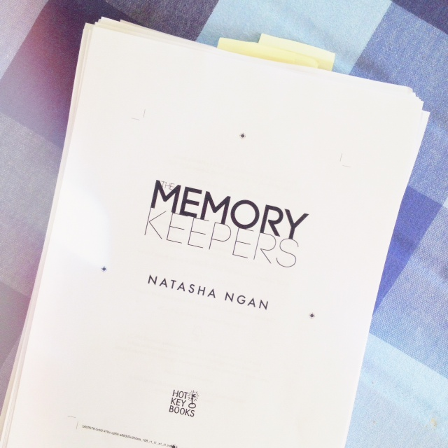 The Memory Keepers by Natasha Ngan proofs