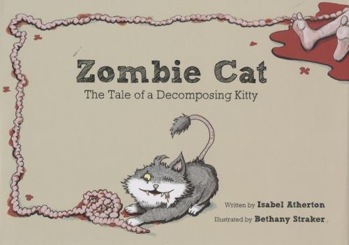 Zombie Cat by Isabel Atherton and Bethany Straker cover